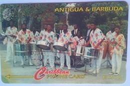 Antigua Phonecard 123CATB Hellsgate Steel Orchestra EC$10 - Antigua And Barbuda