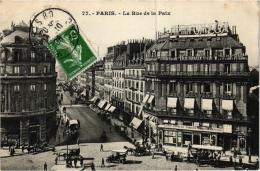 PARIS RUE DE LA PAIX BELLE VUE PLONGEANTE,A VOIR,VICHY EXPRESS ,CABOURG-TROUVILLE EXPRESS   REF 53475 - Arrondissement: 01