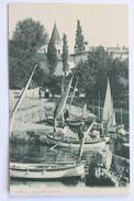 Bootshafen Und Kirche, Abbazia, Croatia - Croatia