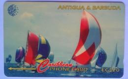 Antigua Phonecard 239CATC 1997 Sailing Week EC$20 - Antigua And Barbuda