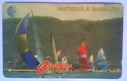 Antigua Phonecard 239CATD Sailing Week 1997 EC$20 - Antigua And Barbuda