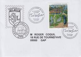Enveloppe  Oblitération  1er  Jour   Oeuvre  De   Paul  SERUSIER   2007 - FDC
