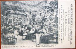 13  MARSEILLE GRANDE BRASSERIE UNIVERSELLE EX CAFE LA CASCADE VUE DU RETAURANT ALPHON PROPRIETAIRE BIERES LE PHENIX - Marseilles