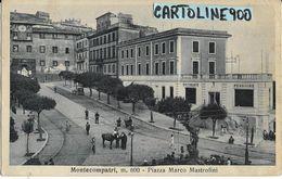 Lazio-roma-montecompatri Piazza Mastrofini Veduta Piazza Bella Animatissima Anni 30 - Italia