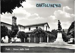 Toscana-prato Piazza Della Pieta Veduta Piazza Monumento Anni 50/60 - Prato