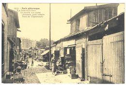 PARIS PITTORESQUE RUE ELISABETH  ROLLAND  LE MARCHE AUX PUCES  ANCIENNE ZONE MILITAIRE PORTE CLIGNANCOURT*  A   SAISIR * - Other