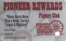 Pioneer Crossing Casino - Dayton, NV - Slot Card - Casino Cards