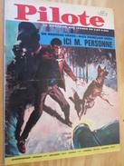 BD314 Revue PILOTE N°274 Du 21 Janvier 1965 .  Couverture ALEX VAINCLAIR  , Avec Son Superbe PILOTORAMA : Le Monde Fant - Pilote