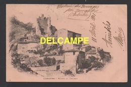 DF / 07 ARDÈCHE / LAMASTRE / RUINES DU CHÂTEAU ( DES SAUVAGES ) / CIRCULÉE EN 1901 - Lamastre