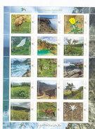 Oman New Issue 2017,Salalah Torusime, Flora & Fauna Sheetlet Compl.12v.MNH -Nice Topical -SKRILL PAY.ONLY - Oman
