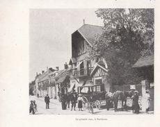 1900 - Iconographie - Barbizon (Seine-et-Marne) - La Grande Rue - FRANCO DE PORT - Alte Papiere