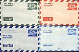 Israel Lot 4 Aerogramme (lot 2) - Airmail