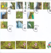 Oman New Issue 2017,Salalah Torusime, Flora & Fauna Sheetlet Compl.12v.on 3 FDC-scarce -Nice Topical -SKRILL PAY.ONLY - Oman