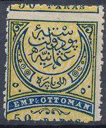Stamp Turkey 1876  50pa  Mint Lot#60 - 1858-1921 Empire Ottoman