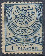 Stamp Turkey 1884  1pi Mint Lot#73 - Neufs
