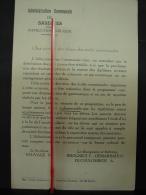 PAD. 230. Avis De L'Administration Communale De Basècles Aux Parents Des élèves Des écoles - Documentos Históricos