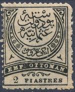 Stamp Turkey   2pi Mint Lot#92 - 1858-1921 Empire Ottoman