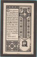 Maria Dille Franciscus Cassauwers Borgerhout 1874 Litho Lithographie Zeer Oud Doodsprentje Image Mortuaire - Santini