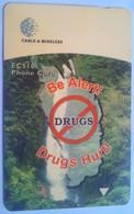Dominica Phonecard 281CDMA Anti-drugs EC$10 - Dominica