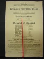 PAD. 234. Basècles Salle Du Cercle St-Joseph, Rue Des Déportés Grande Représentation - Documentos Históricos