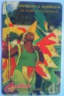 Antigua Phonecard 181CATC Mas Troupe - Antigua And Barbuda