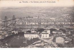 Cp , 13 , MARSEILLE , Vue Générale, Prise De N.-D. De La Garde - Sonstige