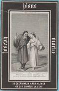 Joannes Lammens Kalken 1838 1876 Dopter Paris Litho Lithographie Zeer Oud Doodsprentje Image Mortuaire (scheurtje) - Andachtsbilder