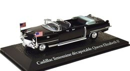Cadillac Limousine Open - Eisenhower & Queen Elisabeth II - Paris 1959 - Atlas (Norev) - Norev