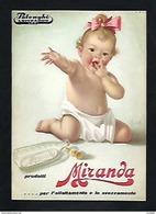 LATTE MIRANDA POLENGHI LODI - BIMBA - -F/G - N/V - PUBBLICITARIA ANNI '50 - Publicidad