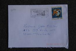 Enveloppe Timbrée Envoyée De CARNAC à Destination De TOULON ( YT : 2492 ) - Marcophilie (Lettres)