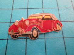 Pin611b Pin's Pins : Rare Et Belle Qualité AUTOMOBILES /  VOITURE DECAPOTABLE ROUGE  ANNEES 30/40 - Badges