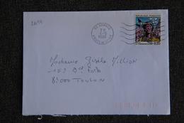 Enveloppe Timbrée Envoyée De VANVES à Destination De TOULON ( YT : 2494 ) - Marcophilie (Lettres)