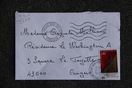 Enveloppe Timbrée Envoyée De LORIENT à Destination De ANGERS ( YT : 94/2890 ) - Marcophilie (Lettres)