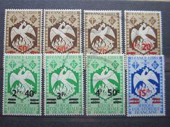 VEND BEAUX TIMBRES D ' A.E.F. N° 198 - 205 , X !!! - A.E.F. (1936-1958)