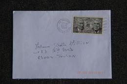 Enveloppe Timbrée Envoyée De LORIENT à Destination De ANGERS - Marcophilie (Lettres)