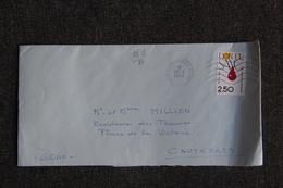 Enveloppe Timbrée Envoyée De ST GERMAIN EN LAYE à Destination De CAUTERETS ( YT/ 2516) - Marcophilie (Lettres)