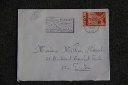 Enveloppe Timbrée Envoyée De TOULON à Destination De TOULON ( YT/ 1455 ) - Marcophilie (Lettres)