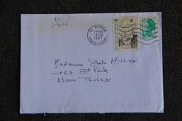Enveloppe Timbrée Envoyée De VANVES à Destination De TOULON ( YT/ 2485 ) - Marcophilie (Lettres)