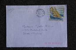 Enveloppe Timbrée Envoyée D'ANGERS à Destination De TOULON ( YT/ 2772 ) - Marcophilie (Lettres)