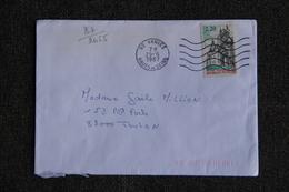 Enveloppe Timbrée Envoyée De VANVES à Destination De TOULON ( YT / 2465 ) - Marcophilie (Lettres)