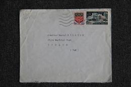 Enveloppe Timbrée Envoyée De TOULON à Destination De TOULON ( YT / 1448 ) - Marcophilie (Lettres)