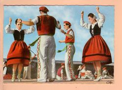 Cp Cartes Postales - Folklore Basque Le Fantango - Danses