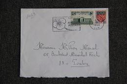 Enveloppe Timbrée Envoyée De TOULON à Destination De TOULON( YT / 1463 ) - Marcophilie (Lettres)