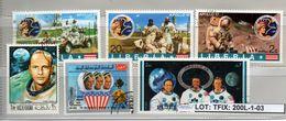 THEMATIC-TOPICS#SPACE #USA#APOLLO# ASTRONAUTS# SMALL SELECTION# (TFIX-200L-1 (03) - Space