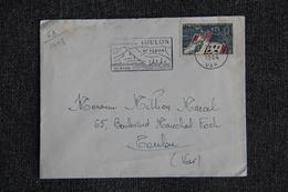 Enveloppe Timbrée Envoyée De TOULON à Destination De TOULON ( YT / 1403 ) - Marcophilie (Lettres)