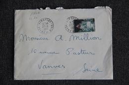 Enveloppe Timbrée Envoyée De VROFLAY à Destination De VANVES ( YT / 1392 A ) - Marcophilie (Lettres)