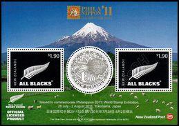 Nuova Zelanda / New Zealand 2011: Foglietto Esposizione Filatelica Philanippon / Philanippon Stamp Exhibition S/S** - Blocks & Sheetlets