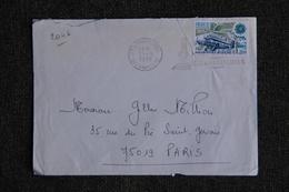 Enveloppe Timbrée Envoyée De PONT L'ABBE à Destination De PARIS ( YT / 2046 ) - Marcophilie (Lettres)