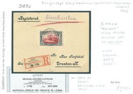 DB341g 1906GERMAN COLS Marshall Is Jaluit  High Vals Registered/GERMANY Dresden - Sin Clasificación