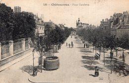 B34925 Châteauroux, Place Gambetta - Frankreich